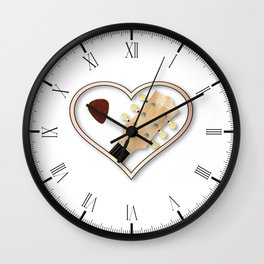Love Guitar Wall Clock