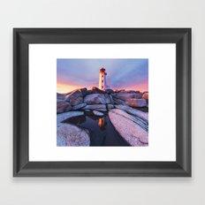 Absorb the Sunset Framed Art Print