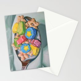 Marshmallow Cereal Stationery Cards