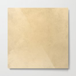 Society6 Home Solid Colors - Hues Of Earth Tones - Beige - Desert Pastel Colours 2K Metal Print