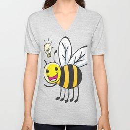 Bee Idea Unisex V-Neck