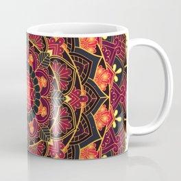 Midnight Rose Mandala Coffee Mug