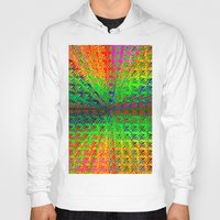psychedelic Hoodies featuring Psychedelic by Debbie Clayton