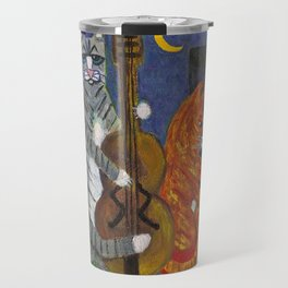 Jazz Cats Travel Mug