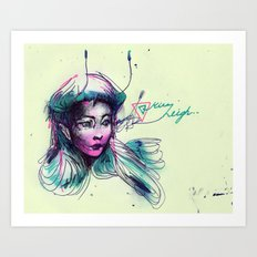 pen-fairy Art Print