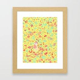 Unwrapped Framed Art Print