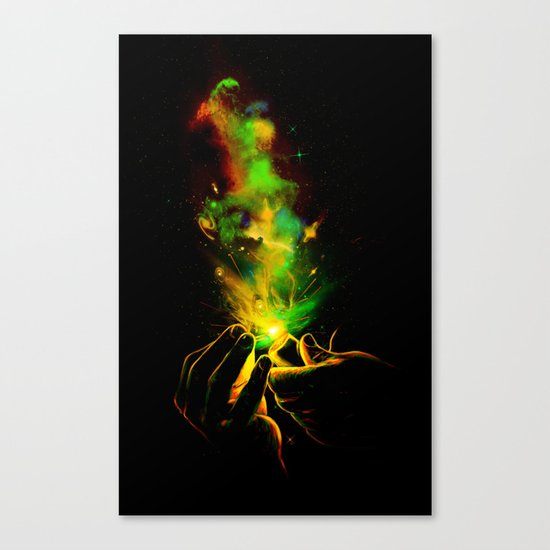 Light It Up! Canvas Print