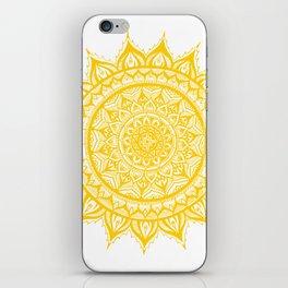 Sunflower-Yellow iPhone Skin