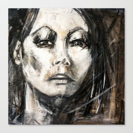 une femme Canvas Print