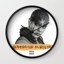 Imperator Furiosa - Mad Max Fury Road Wall Clock
