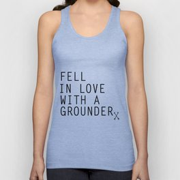 Fell in Love with a Grounder - (The 100) Unisex Tank Top