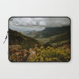Vibrant Mountain Range Landscape, Big Bend Laptop Sleeve