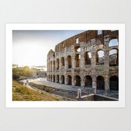 The Colosseum of Rome Art Print
