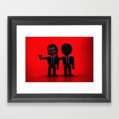 Toy Pulp Fiction Framed Art Print