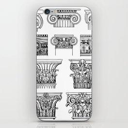 order of columns iPhone Skin