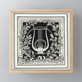 Music Framed Mini Art Print