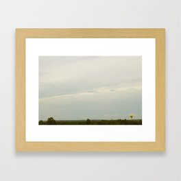 Millington Watertower Framed Art Print