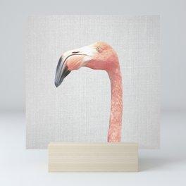Flamingo - Colorful Mini Art Print