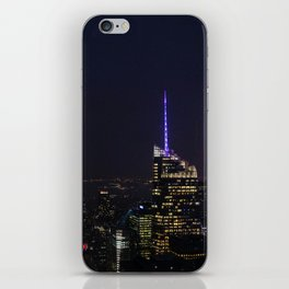NYC Iconic Night Sky iPhone Skin