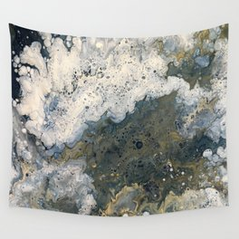 Acrylic Pour 2 Wall Tapestry