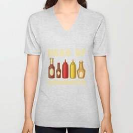 Head Of Condiments Unisex V-Neck