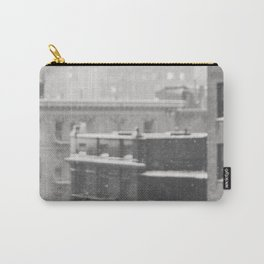 One Snow Day on 86th Street - NYC Photography Carry-All Pouch
