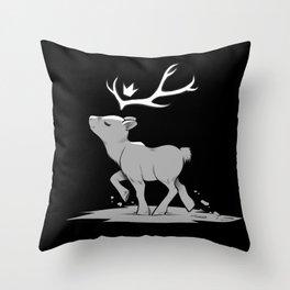 Inktober Series - Tiny Royalty Throw Pillow