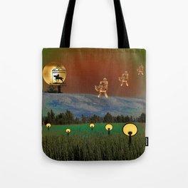 Visitation - A Lampscape Tote Bag