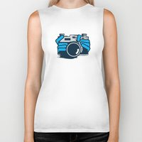 cheese Biker Tanks featuring Cheese by Sei Rey Ho