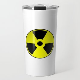 Nuclear Symbol Travel Mug