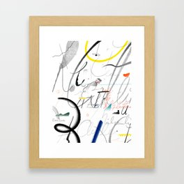 """""""Cursive Handwriting and Other Education Myths"""" by Gizem Vural for Nautilus Framed Art Print"""