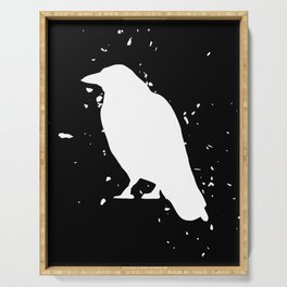 Crow - Graphic Fashion Serving Tray