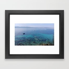 Deep blue sea... Framed Art Print