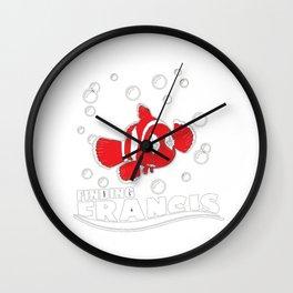 Finding Francis Wall Clock