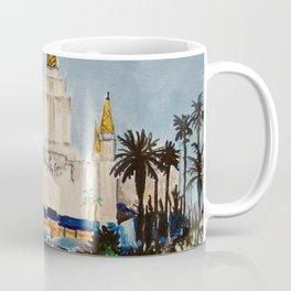 Oakland California LDS Temple Dusk Coffee Mug
