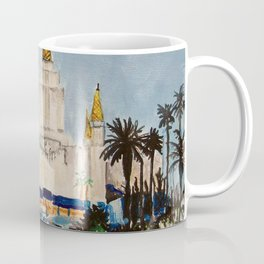 Oakland California LDS Temple Dusk Coffee Mug
