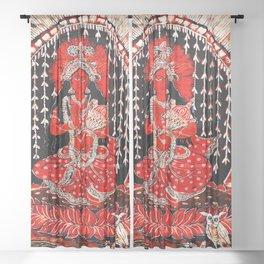 Hindu Lakshmi 1 Sheer Curtain