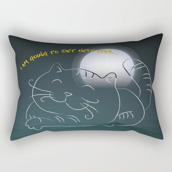 Promise - Big Cat Rectangular Pillow