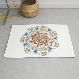 Mother Earth Mandala Rug