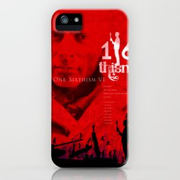 One Sixth Ism Vol.1 iPhone Case