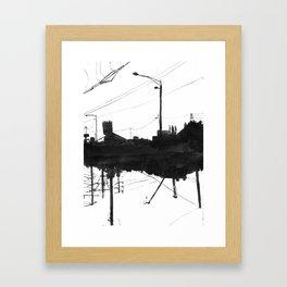 Railway IIX Framed Art Print