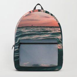 Deep Green Float Backpack