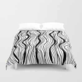 BLACK STRIPES Duvet Cover