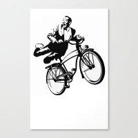 pee wee Canvas Prints featuring Pee Wee  by AngelDoes