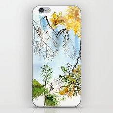 the only way out is up iPhone & iPod Skin