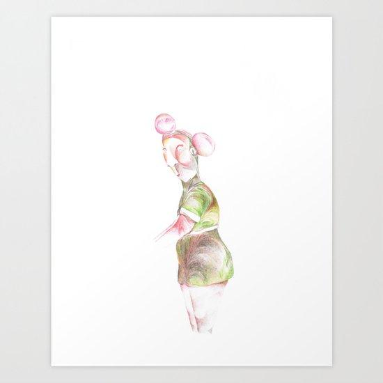 Untitled4 Art Print