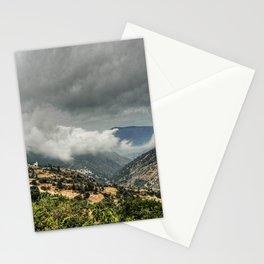 Nubes y tinieblas Stationery Cards