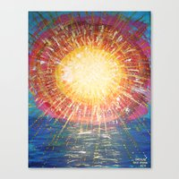 kindle Canvas Prints featuring :: OneSun :: by :: GaleStorm Artworks ::