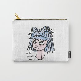 IN A GREAT MOOD. Carry-All Pouch