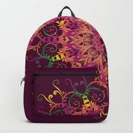 Abstract ethnic mandala. Backpack